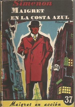 MAIGRET EN LA COSTA AZUL: Simenon,Georges