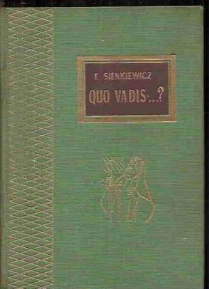 QUO VADIS: Sienkiewicz,E.