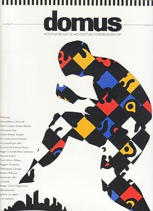 Domus N. 751 Rivista internazionale di progetto. International design review