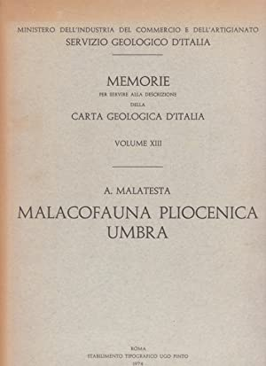 Malacofauna pliocenica umbra: Malatesta Alberto