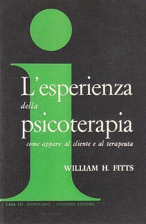L'esperienza della psicoterapia come appare al cliente: William H. Fitts