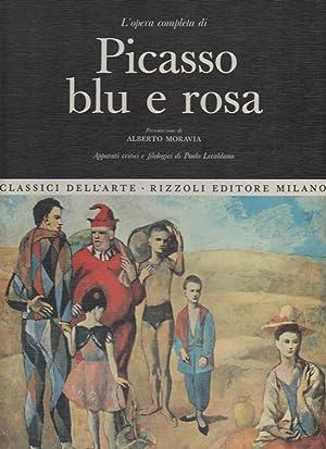 L'opera completa di Picasso blu e rosa: Bruno Gianfranco