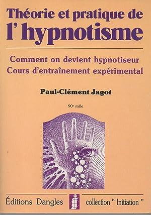 Theorie et pratique de l'hypnotisme: Comment on: Jagot P.C.