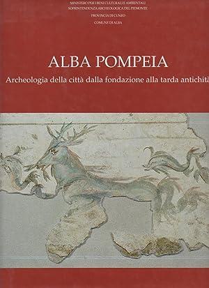 Alba Pompeia. Archeologia della citta' dalla fondazione: Filippi Fedora (a