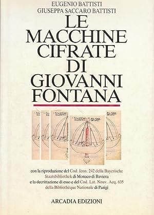 Le macchine cifrate di Giovanni Fontana: Battisti Eugenio -