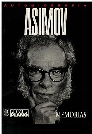 Asimov. Autobiografía: Asimov, Isaac