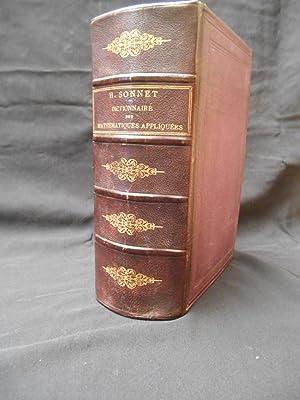 Dictionnaire des mathématiques appliquées comprenant les principales: SONNET H