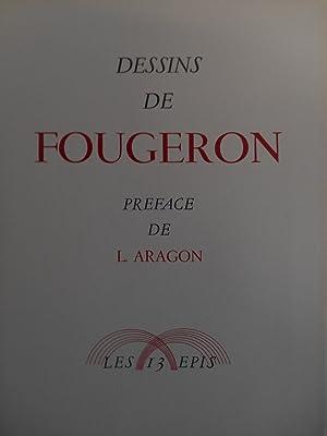 ALBUM DE DESSINS .: FOUGERON / ARAGON