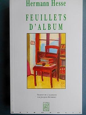 FEUILLETS D' ALBUM.Souvenirs sur des contemporains .: HESSE Hermann