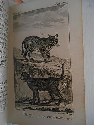 Histoire naturelle de Buffon, classée par ordres, genres et espèces, d'après le système de ...