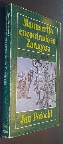 Manuscrito encontrado en Zaragoza: POTOCKI, Jan: