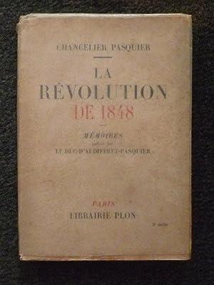 LA REVOLUTION DE 1848: PASQUIER (LE CHANCELIER)