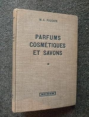 Parfums, cosmétiques et savons. Avec une étude spéciale des produits synthétiques. Tome I : ...