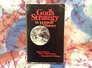 God's Strategy in Human History: Forster, Roger
