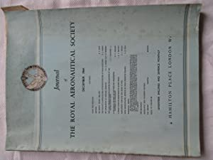 Journal of The Royal Aeronautical Society (