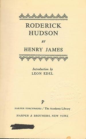 Roderick Hudson: James, Henry