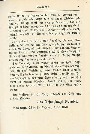 Gefangbuch Fur Gemeinden Des Evan. Lutherischen Besenntnisses: Various