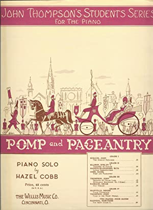 Pomp and Pageantry : John Thompson's Students Series for the Piano: Cobb, Hazel