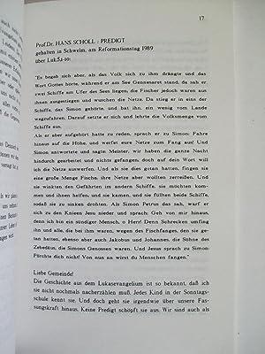 Wechsel-Wirkungen. Traktate zur Praktischen Theologie und Ihren Grundlagen. Berg-Predigten.: K. ...