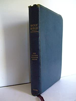 The New Scofield Reference Bible. Holy Bible: Scofield, C. I.