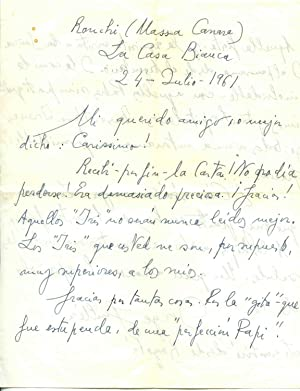 Grande poeta spagnolo. Dopo la guerra civile,: Jorge Guillê n