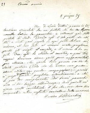 Pittore e letterato romano, fu autore dell�opuscolo: Antonio Bianchini (Roma