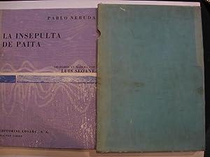 La insepulta de Paita : elegía dedicada: Neruda, Pablo