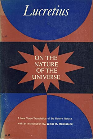 On the Nature of the Universe: Lucretius, James H.