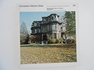 Canadian Historic Sites: Occasional Papers in Archaeology: Cameron, Christina /