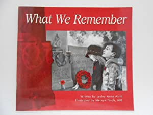 What We Remember (signed)