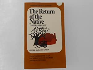 The Return of the Native: An Authoritative: Hardy, Thomas /