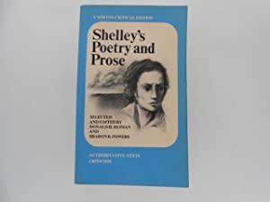 Shelley's Poetry and Prose: Authoritative Texts Criticism