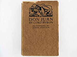 Don Juan By Lord Byron with 93 Illustrations & Decorations By John Austen