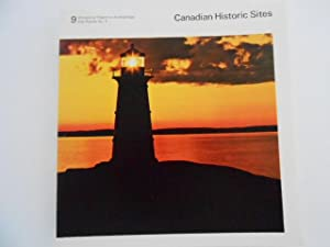Canadian Historic Sites: Occasional Papers in Archaeology and History No. 9: The Canadian Lightho...
