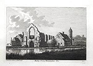 WORCESTERSHIRE, DUDLEY PRIORY, PRIORY PARK, Hooper, Grose , Antique Print 1776