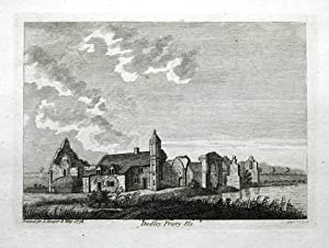 WORCESTERSHIRE, DUDLEY PRIORY, PRIORY PARK,Pl2 Hooper,Grose ,Antique Print 1776