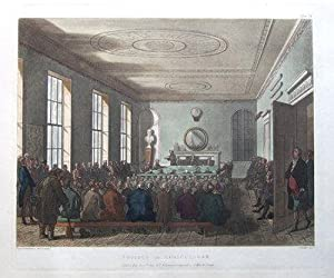 SOCIETY OF AGRICULTURE, ACKERMANN, MICROCOSM OF LONDON antique print 1808