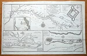 ST.LOUIS, SENEGAL AFRICA D'Anville, original antique map c1750