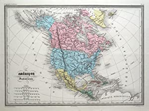 Map Of America North South And Central.Shop Americas Original Antique M Collections Art Collectibles