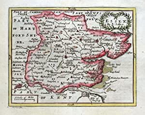 ESSEX, John Seller, Original Antique Map c1696