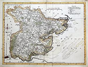 ESSEX, Thomas Kitchin Pocket Atlas, Original Antique Map 1769