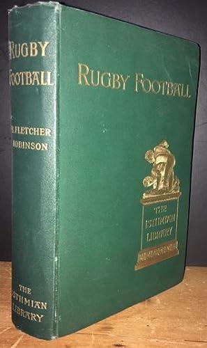 Rugby Football: Robinson, B. Fletcher