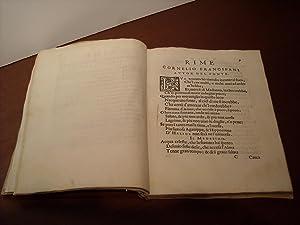 Helice. Rime, et versi di vari compositori de la patria del Frioli. Sopra la fontana Helice: ...