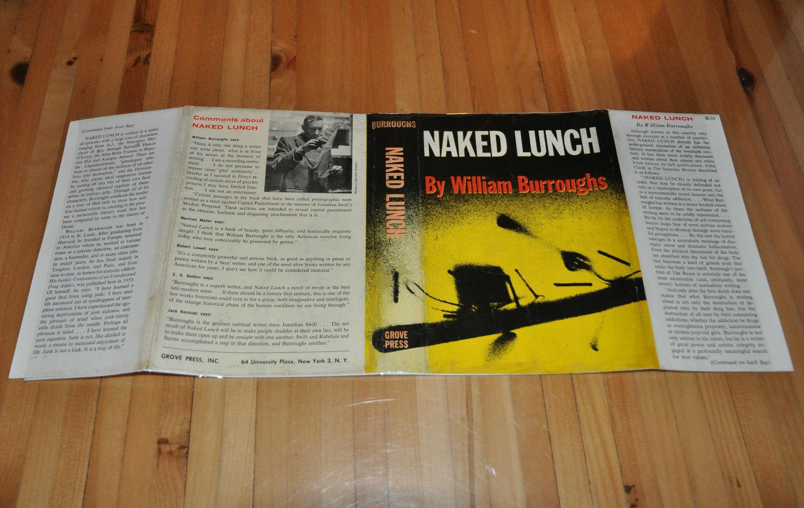 William S. Burroughs NAKED LUNCH Signed 1st 1st Edition