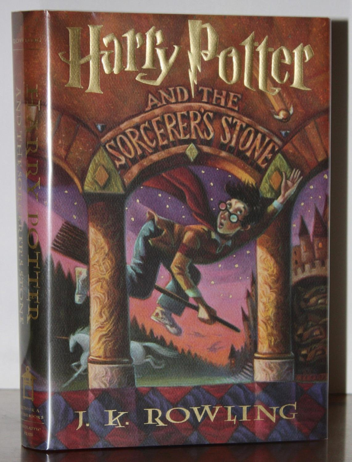 HARRY POTTER AND THE SORCERER'S STONE by J.K. ROWLING ...