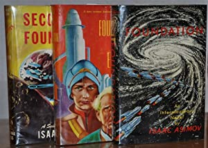 FOUNDATION TRILOGY (Foundation, Foundation and Empire, Second: Isaac Asimov