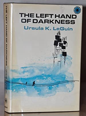 THE LEFT HAND OF DARKNESS (signed on book plate)