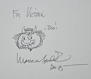 THE ART OF MAURICE SENDAK (signed with a drawing of a Wild Thing)