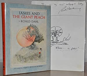 JAMES AND THE GIANT PEACH (SIGNED BY: ROALD DAHL