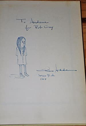 ADDAMS AND EVIL (SIGNED BOOK WITH A DRAWING)